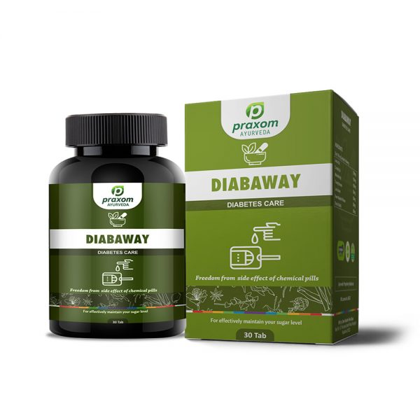 Praxom Diabaway for Diabetes and Sugar Control