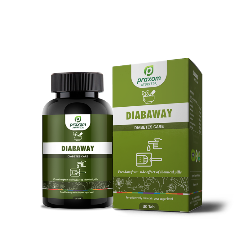 Praxom Diabaway for Diabetes and Sugar Control