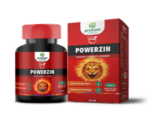 Praxom Powerzin for Mens Vitality and Sexual Wellness